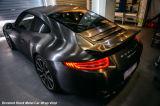 El nuevo estilo de Tsautop el 1.52*30m aplicó el abrigo del vinilo con brocha del coche del negro del satén del metal