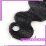Африканец 100% человеческих волос девственницы Unprocessed развевает волосы