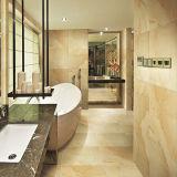 Pavimentando a telha de madeira do banheiro do Inkjet cerâmica de Foshan