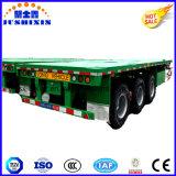 40FTの容器の半平面トレーラー、高いベッドのトラックのトレーラー