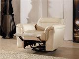 Weißes Farben-Italien-Entwurfs-Lederrecliner-Sofa