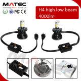 Selbstscheinwerfer Guangzhou-Matec LED für Scheinwerfer des Auto-Gelb-blauen Weiß-LED der Birnen-H1 H3 H4 LED