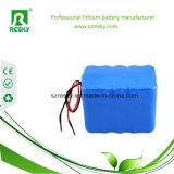 Paquet rechargeable de la batterie Li-ion 14.8V avec l'ion de lithium de BMS 10ah 18650