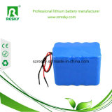 Nachladbarer Li-Ion14.8v batterie-Satz mit BMS 10ah 18650 Lithium-Ion