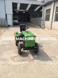 Pequeño MINI hogar del tractor de tamaño pequeño trasera 4 ruedas Tractores Rotary Cultivador