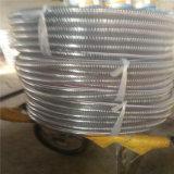 Fil d'acier de PVC/tuyau en spirale d'aspiration/décharge