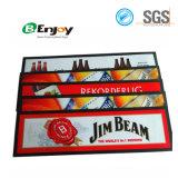 Esteiras feitas sob encomenda da cerveja do derramamento da esteira da barra da borracha de nitrilo da cópia do logotipo