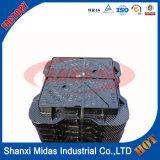 EN124 ferro fundido dúctil Rodada Manhole Cover com quadro