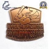 De glanzende Medaille van het Brons met Zacht Email