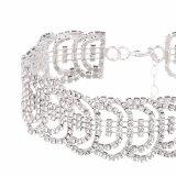 Европейское полного диаманта Wholesele преувеличенный и американское ожерелье