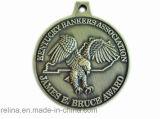 Il funzionamento personalizzato 2013 di maratona assegna la medaglia di /Medallion/Running della medaglia del metallo