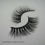 Ciglio cosmetico naturale 3D del prodotto di bellezza dei capelli per l'artista di trucco