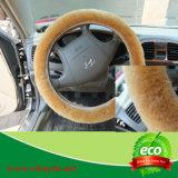De warme Dekking van het Stuurwiel van de Auto van de Schapehuid van de Winter