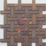 Mosaico decorativo del cobre del modelo del rompecabezas (CFM1021)