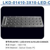 LED Street Light/Lamp Module Lens con 30 LED di Philips Lumileds (Canada)