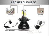 H4 8000lm 80W 9-36V 3000k 6000k 8000k para bulbos do farol do diodo emissor de luz do carro H4