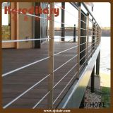 Cavo di Exteriror che recinta la balaustra del terrazzo dell'acciaio inossidabile per il disegno di progetto (SJ-H1448)