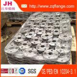 Schmiede-großer Stahlflansch für Lieferung, Druckbehälter, Abwasser-Behandlung
