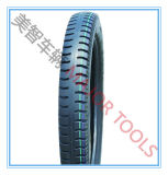 Quermuster-pneumatischer Gummiradautocycle-Reifen