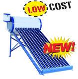 Coletor solar solar Non-Pressurized do coletor do calefator de água do sistema de aquecimento de água quente/de câmara de ar de vácuo baixa pressão de Unpressure