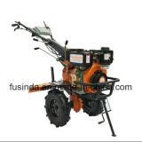 10HP 186fエンジンを搭載するを搭載するディーゼル力の耕うん機