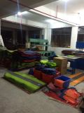 Colchão de acampamento do Fácil-Portador compato inflável