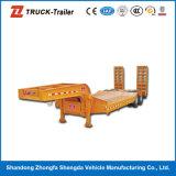 Semi Aanhangwagen van Lowbed van het Voertuig van Specilized van het Platform van drie Assen de Lage