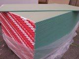 Gips-Vorstand-Fasergipsplatte-Papier stellte Gips-Vorstand-Gebäude Materal gegenüber