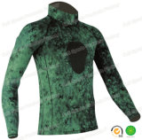 Overhemd van de Wacht van Lycra van de Camouflage van Spearfishing van de Sporten van mensen het Onbesuisde