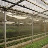 Estufa agricultural da película plástica com equipamentos