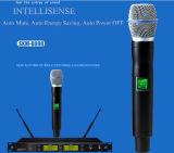 Microphone neuf de radio de karaoke de fréquence ultra-haute d'Intellisense
