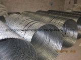 Bto-10、15、22の十字のタイプ、熱い浸された電流を通されたアコーディオン式かみそりのリボンの有刺鉄線