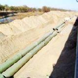 Tubos compuestos del drenaje del agua de la fibra de vidrio GRP FRP