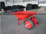 Kruiwagen Wb4024A van het Wiel van de Kruiwagen van Europa de Model