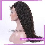 아기 머리를 가진 100%년 Virgin 브라질 머리 가득 차있는 레이스 가발