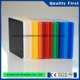 Prix de gros Colorful Cast Plexiglass Sheet pour Buliding Material