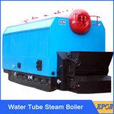 Caldera de agua caliente completamente automática de la biomasa de la pantalla táctil con control del PLC