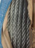 Elec Galv DIN3060 веревочка стального провода 6X19 + FC/Iws/Iwrc