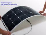 중국 최고 PV 공급자 옥외 100W 광전지 유연한 태양 전지판