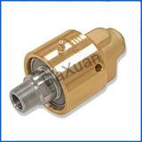 Unión giratoria del agua del vapor del aire de Deublin del paso doble de cobre amarillo hidráulico del acero 1/4 '' - el 1/2 ''