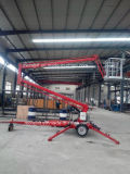 Towable hydraulische telescopische luchtlift met Ce