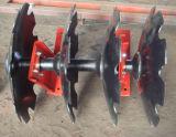 Alas de plegamiento dobles en grada de disco compensada del Medio-Deber de la presión hydráulica
