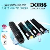 Polvo de toner de la copiadora del color de Japón T3511 para el estudio 281c 351c 451c de Toshiba E