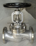 DINの標準の鋳造物鋼鉄地球弁(J41H)
