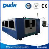 prix carré de machine de découpage de laser de fibre de tôle de pipe de la commande numérique par ordinateur 3000W