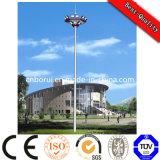 Stadio 01 che illumina alta illuminazione palo, palo d'acciaio palo chiaro dell'albero con il sistema dell'elevatore