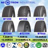 275/80r22.5 두 배 동전 타이어 315 80 22.5 11r24.5 무거운 광선 트럭 타이어