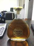Frasco superior do licor do vinho do vidro de conhaque da classe para 700ml 750ml