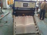 Прессовать листа одиночного винта Yxwj пластичный & автомат для резки, пластичный штрангпресс листа с резать оборудование, штрангпресс листа скоросшивателей офиса соединяются с резцом