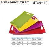 Umhüllung-Tellersegment-Sets, quadratisches Melamin-Handgriff-Tellersegment